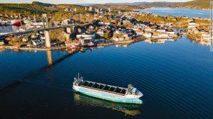 първият безпилотен карго кораб в Норвегия с нула емиси замърсяване