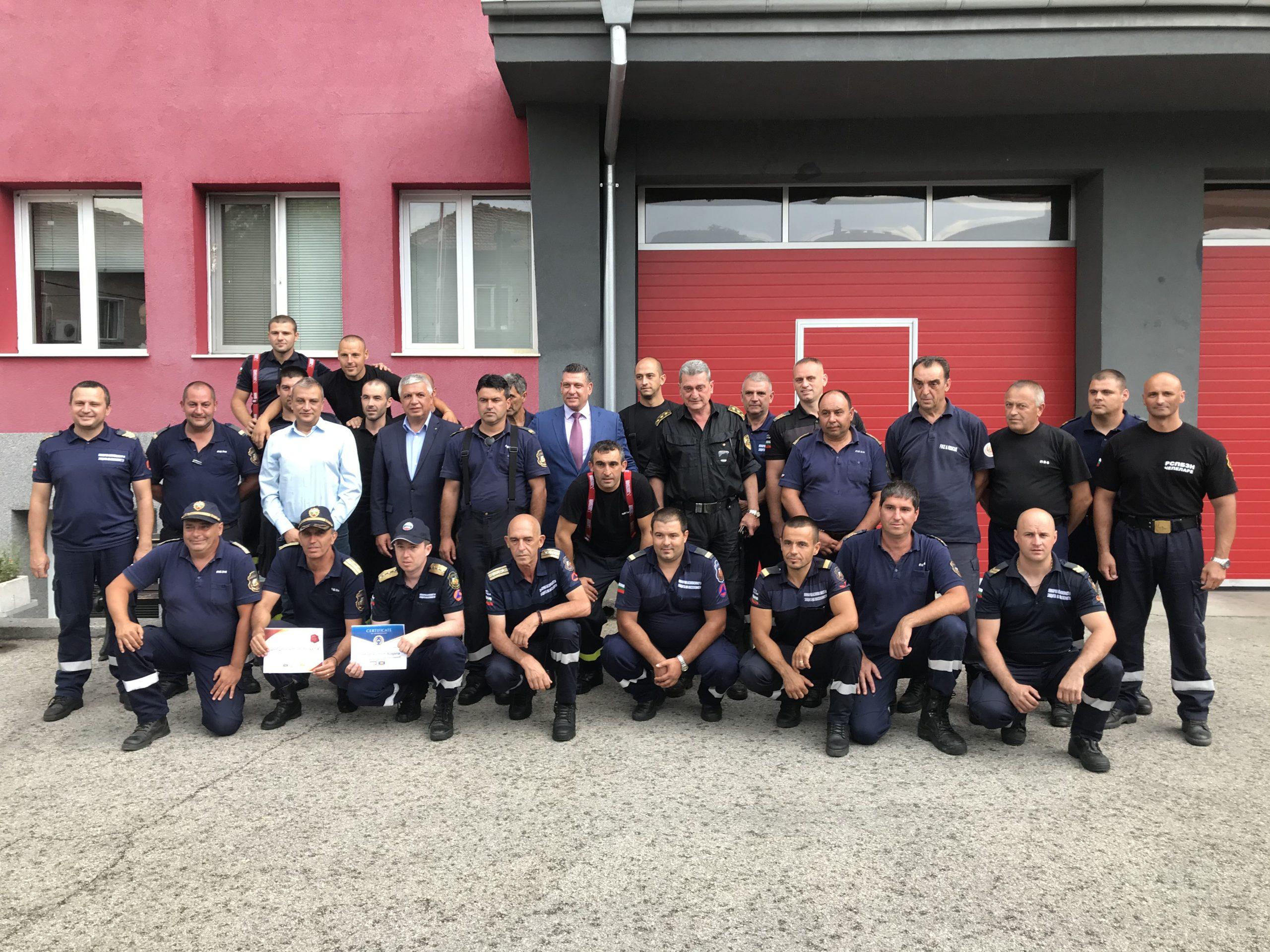 Притекохте се първи на помощ на нашите съседи и изпълнихте задачата пожарът да не застраши България