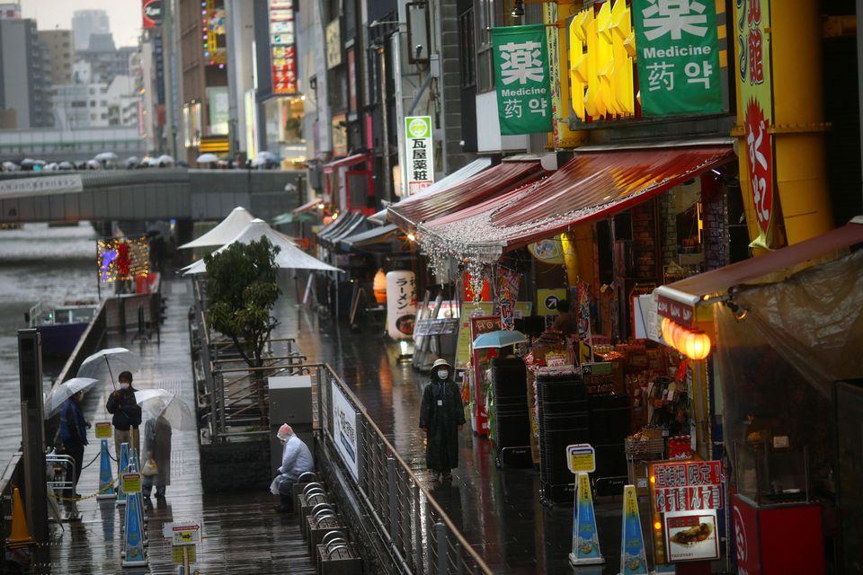 Ограниченията на извънредното положение в Япония не ограничават движението толкова ефективно