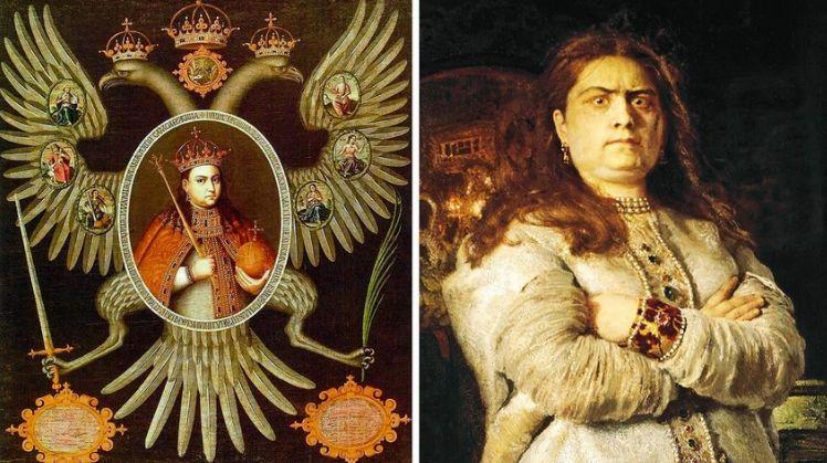 Първата жена, управлявала някога Русия