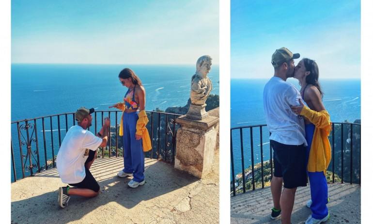 Златната гимнастичка Симона Дянкова получи годежен пръстен