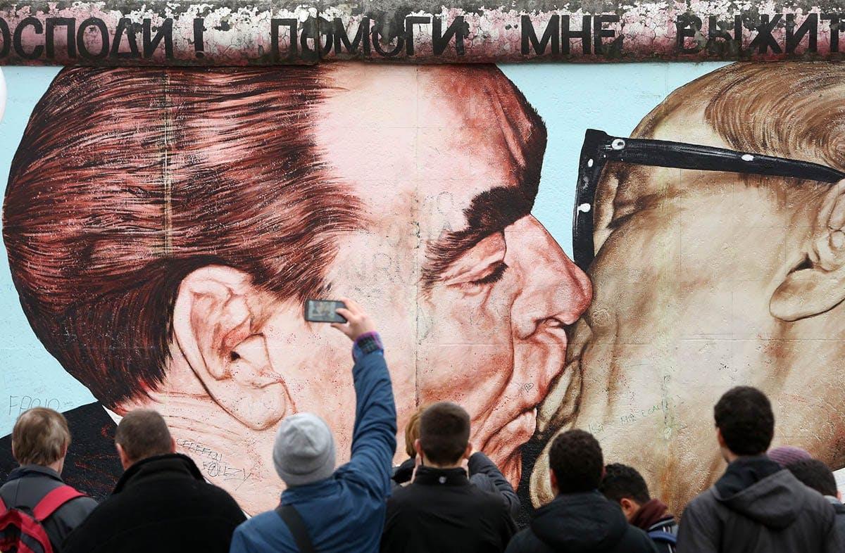 Останките от Берлинската стена след 60 години - като улично изкуство в цифри и факти