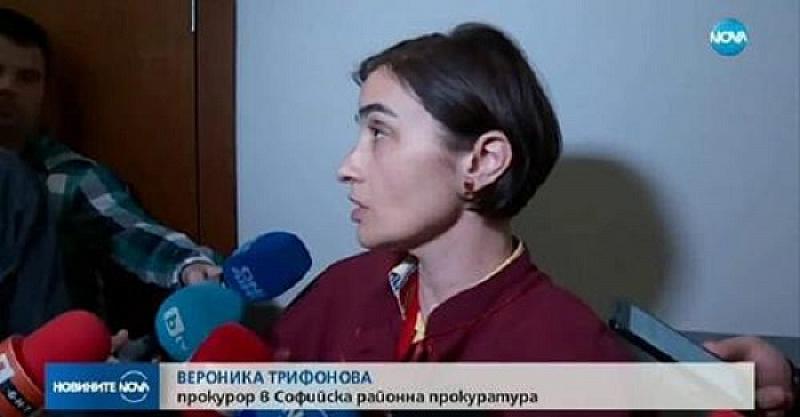 Прокурор Вероника Трифонова, която е отказала да се преследват наказателно полицаите-биячи
