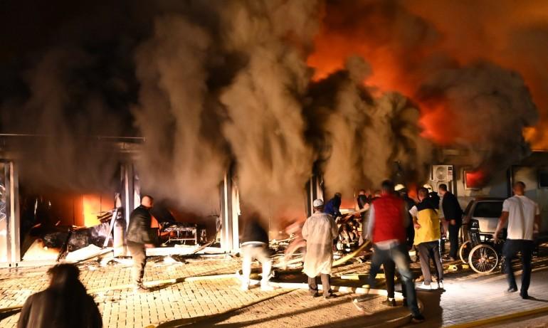 Трагедия в Северна Македония - 10 жертви при пожар в Covid-отделение