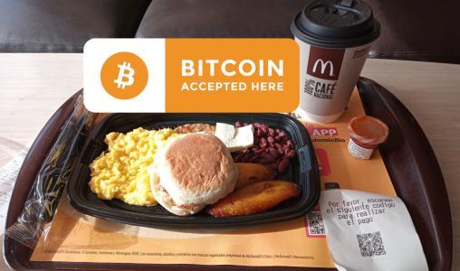 Макдоналдс започна да приема биткойни в Салвадор. Eл Салвадор започва активно закупуване на биткойни
