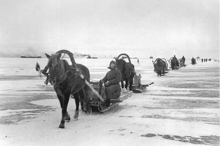 """""""Пътят на живота"""" през езерото Ладога: исторически факти"""