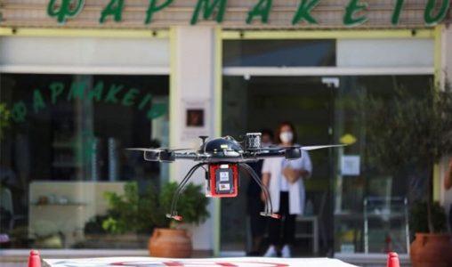 В Гърция ще използват дронове за доставка на лекарства до отдалечени райони
